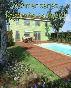 summer-series,-residential-backyard-for-poser