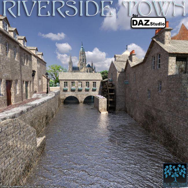 riverside-town-for-daz-studio