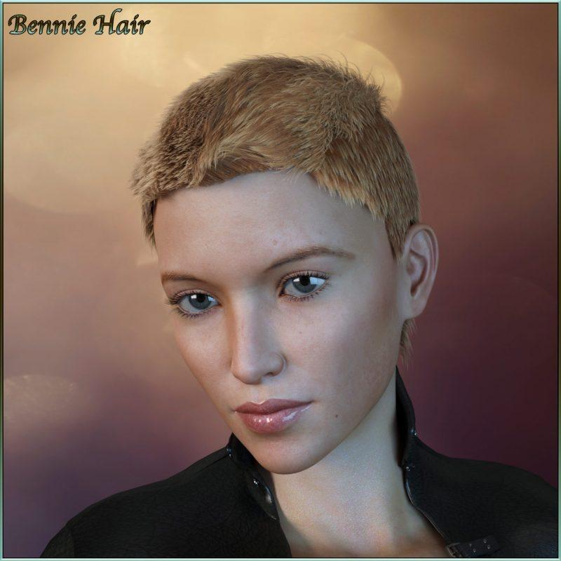 bennie-hair-for-g3/g8-daz
