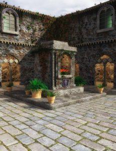 villa-cimone-courtyard