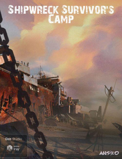 shipwreck-survivors-camp