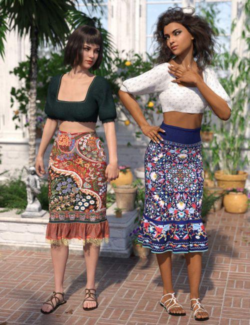 dforce-boho-ruffle-dress-textures
