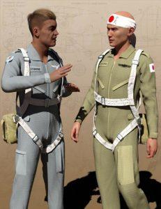 pilot-uniform-materials-of-wwii