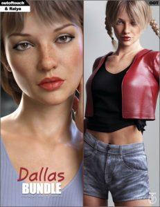 dallas-clothing,-character-and-hair-bundle
