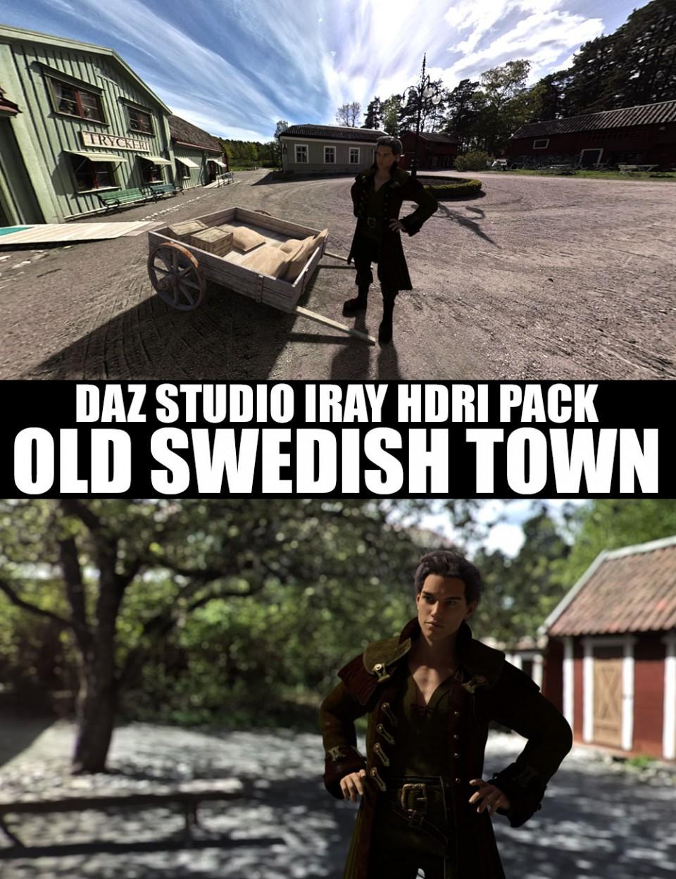 old-swedish-town-–-daz-studio-iray-hdri-pack