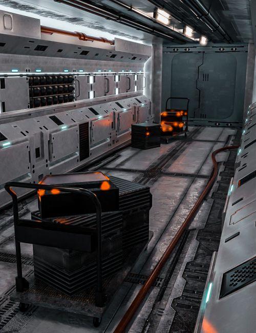 tesla-scifi-corridor