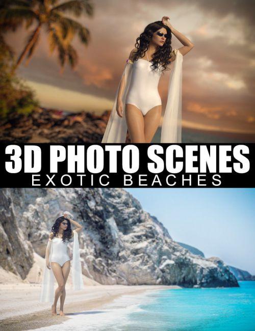 3d-photo-scenes-–-exotic-beaches