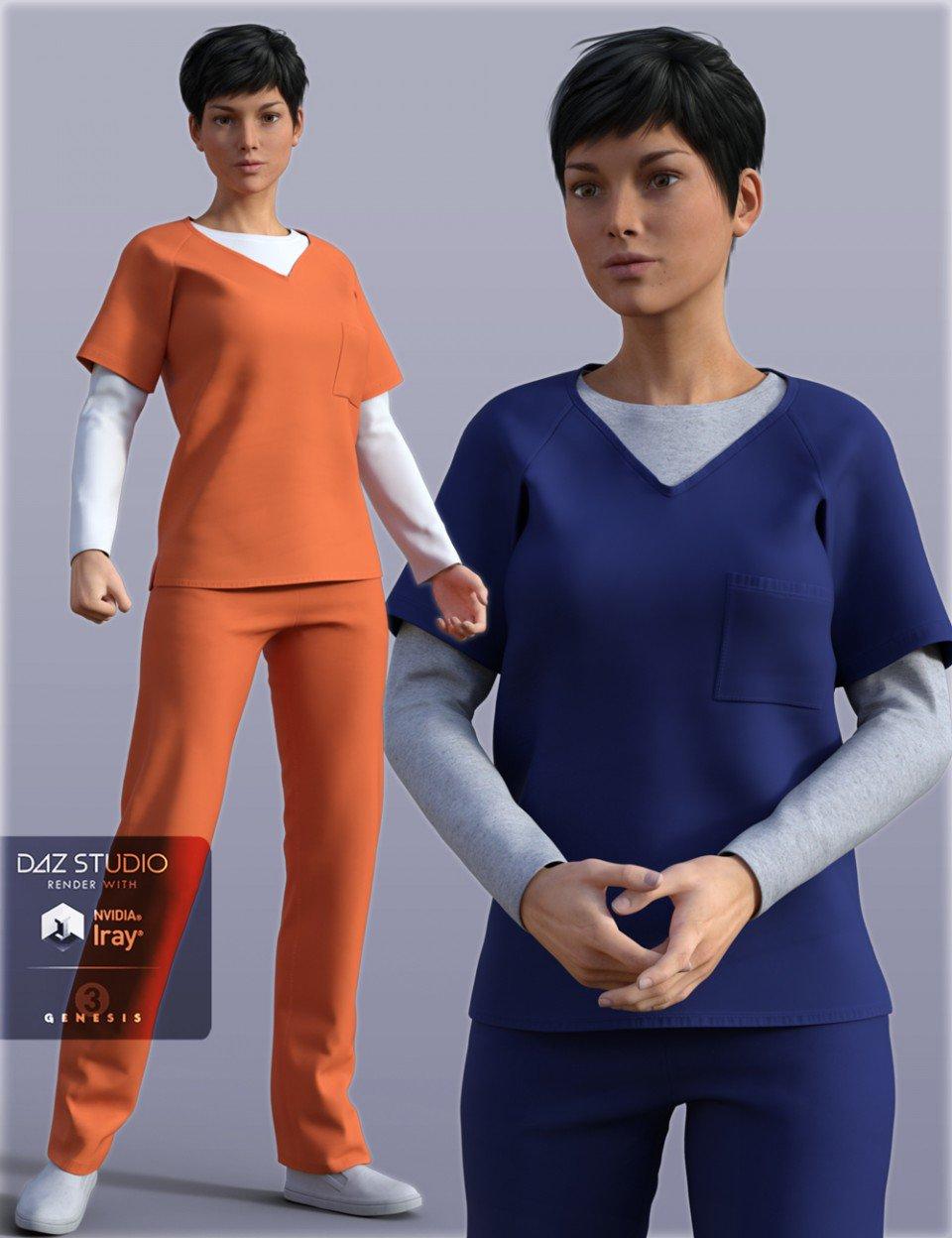 h&c-prisoner-clothing-for-genesis-3-female