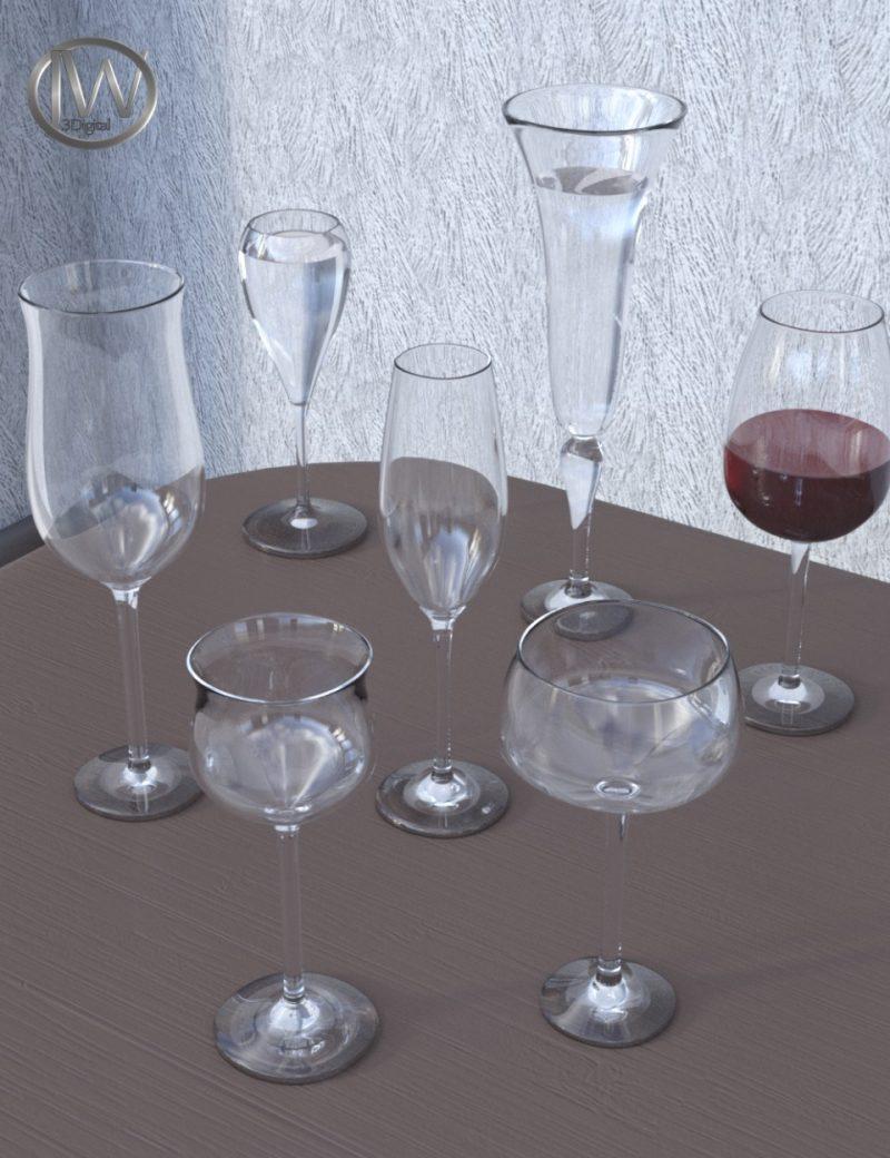 jw-glassware-set