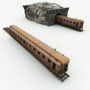 abandoned-train-car-for-blender