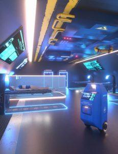 sci-fi-starship-medbay-volume-2