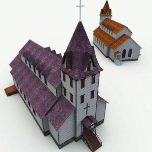 haunted-church-for-blender