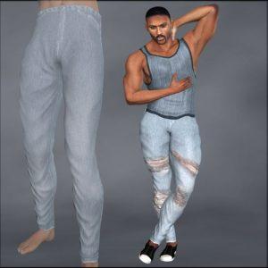 dusk-deep-cut-tank-and-skinny-jeans