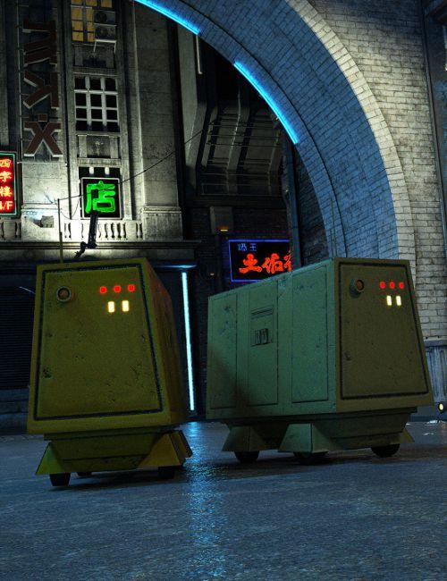 sci-fi-roller-bot