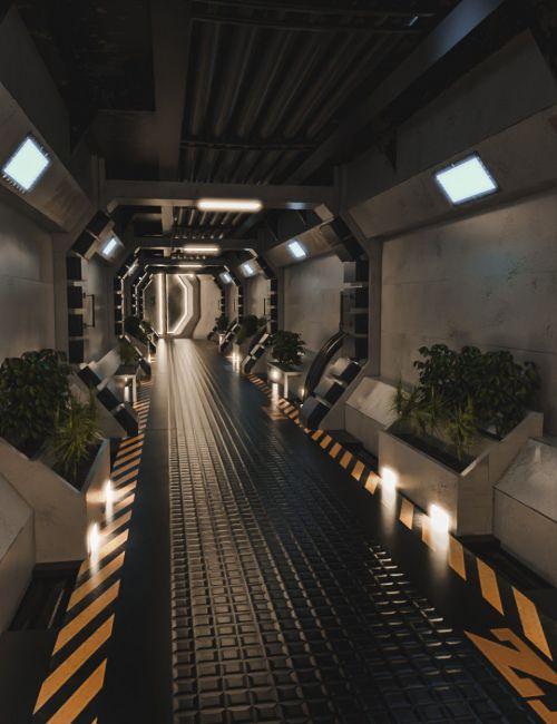 modular-scifi-hallway