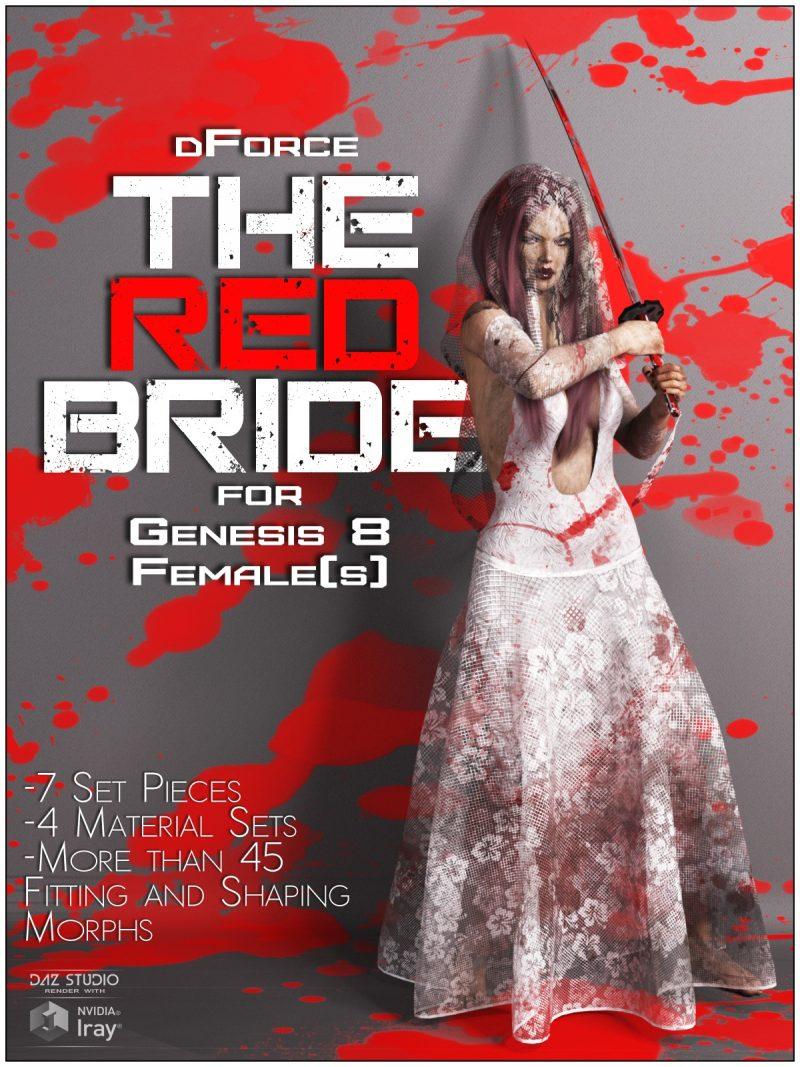 dforce-the-red-bride-for-genesis-8-females