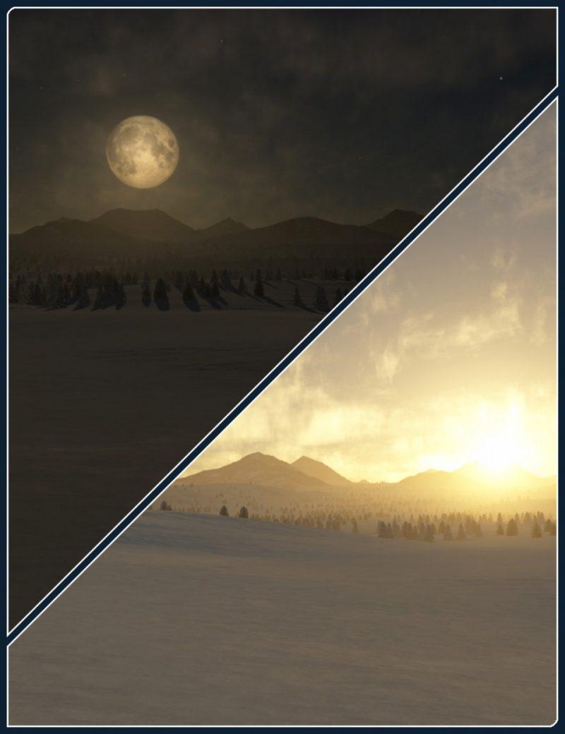 easy-environments:-winter-ii-night-&-dawn