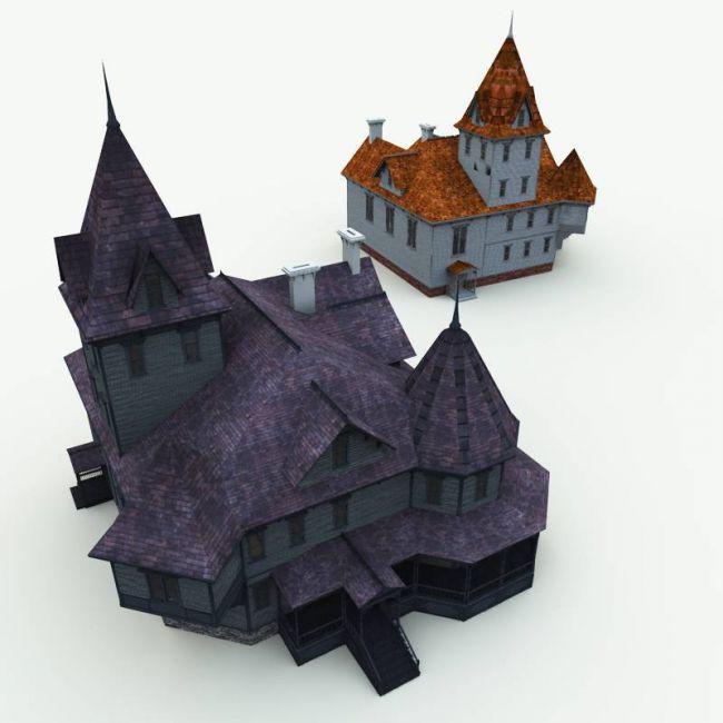 haunted-manor-house-for-blender