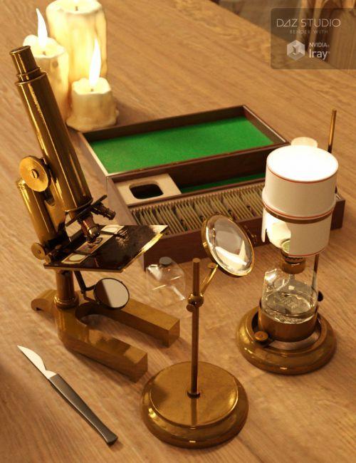 victorian-microscopy