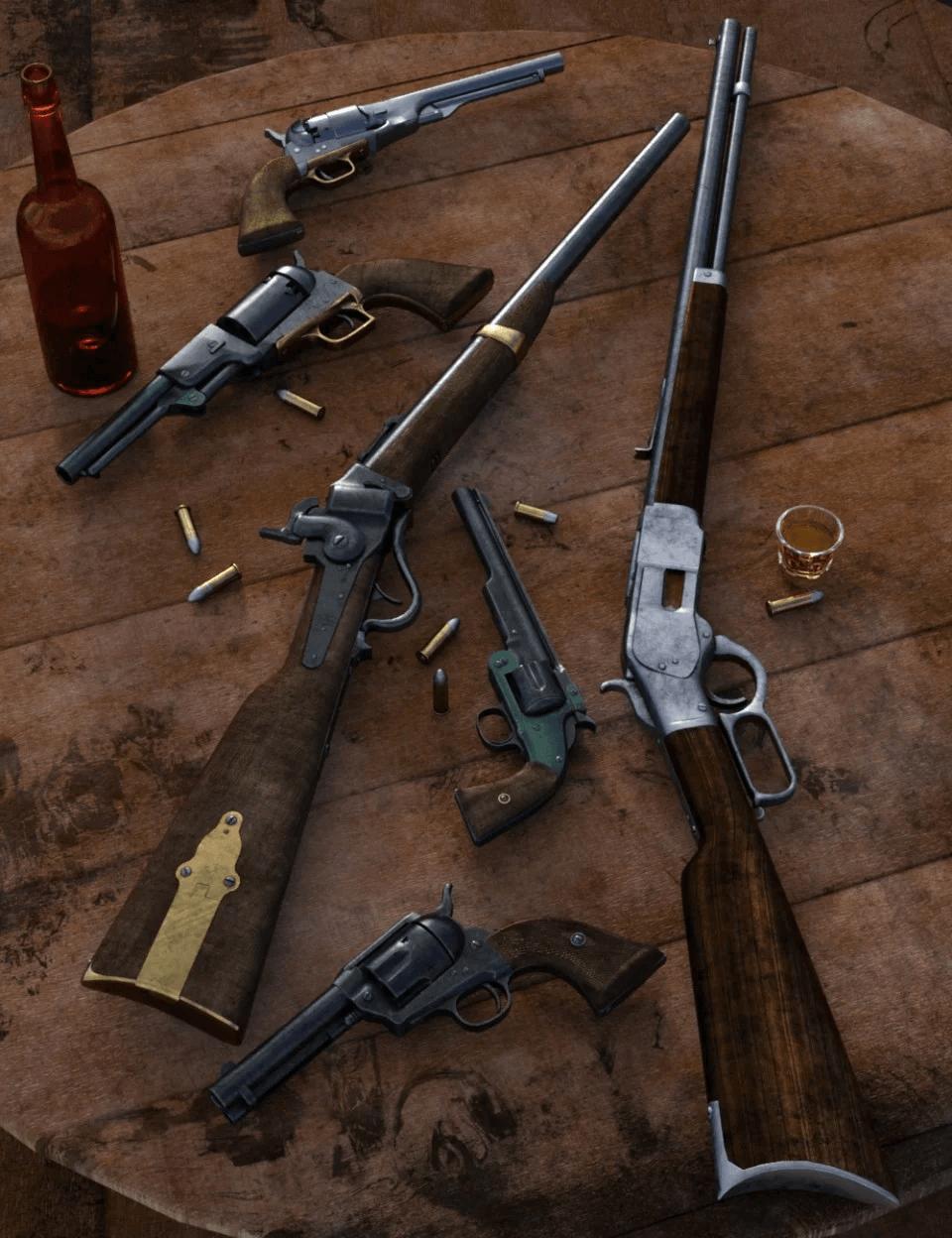 old-west-firearms-vol-1