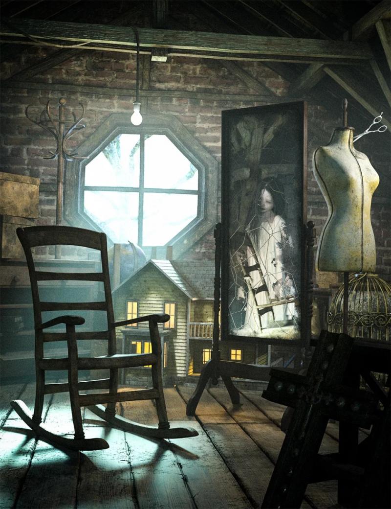 creepy-old-attic