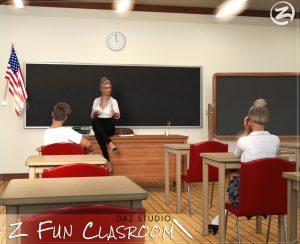 z-fun-classroom-–-daz-studio