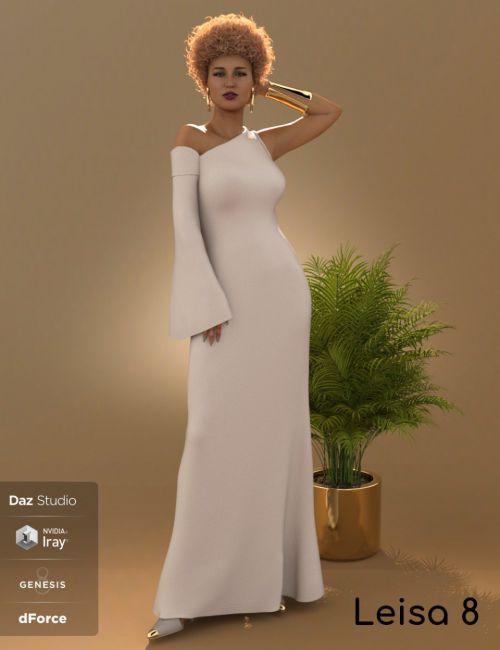 dforce-one-sleeve-dress-for-leisa-8-and-genesis-8-female(s)