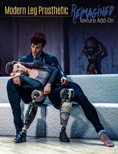 modern-leg-prosthetic-reimagined-texture-add-on