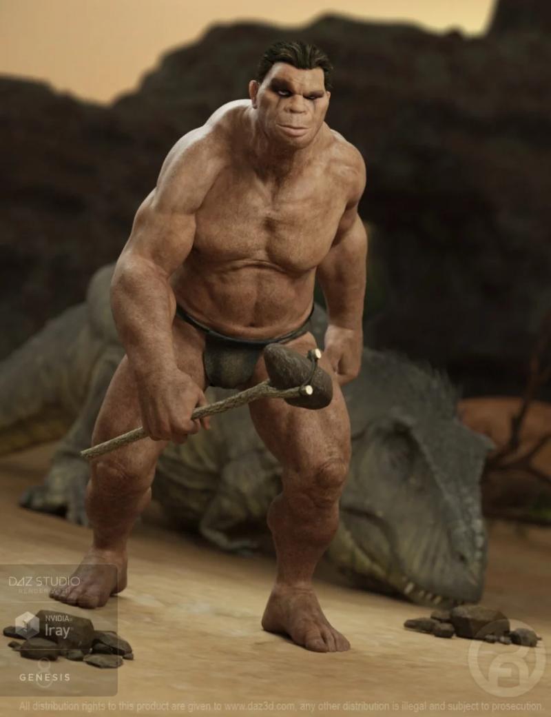 troglodyte-for-genesis-8-male