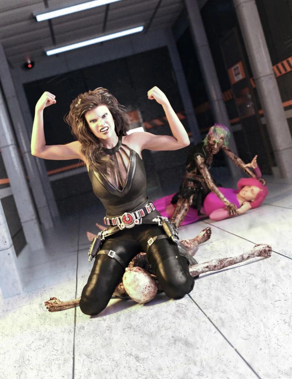 cat-fight-poses-for-genesis-8-female