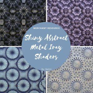 shiny-abstract-metal-iray-shaders