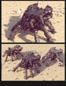 sci-fi-ls-spider-mecha