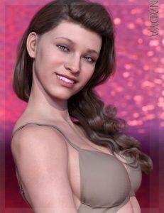 nadya-hd-&-smile-hd-expression-for-genesis-8-female