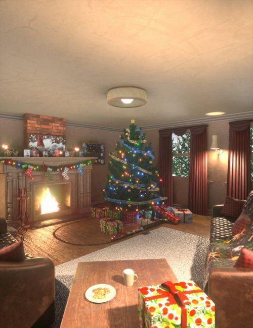 cozy-christmas-living-room