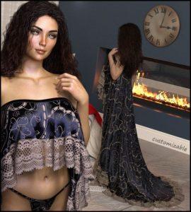 private-moments:-dforce-–-delilah-lingerie-for-g8f