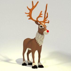 toon-reindeer