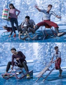 sledding-fun-for-genesis-8