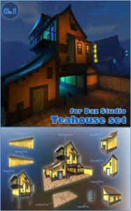 teahouse-set-for-daz-studio
