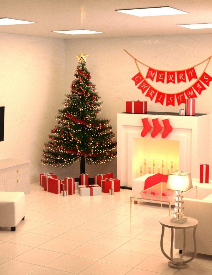 modern-christmas-living-room
