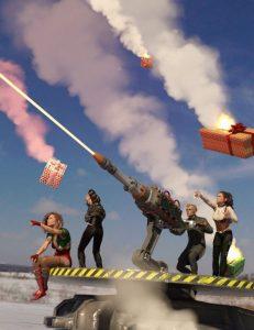 santa-slayer-defensive-laser-cannon