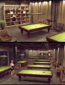 weekend-pool-room