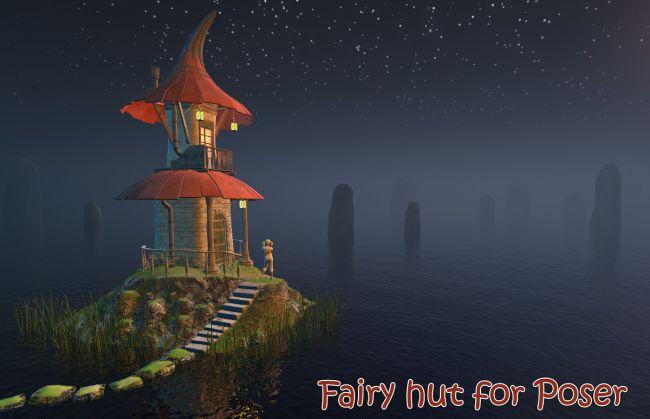 fairy-hut-for-poser