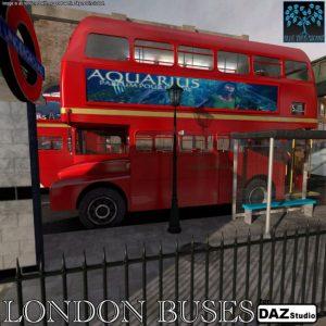 london-buses-for-daz|studio
