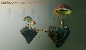 mushroom-island-for-daz-studio