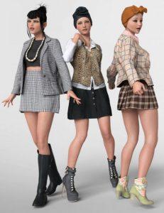 3-dforce-vintage-outfits-for-genesis-8-female