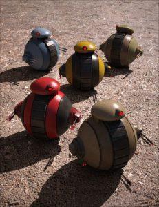sci-fi-mini-tank-bot