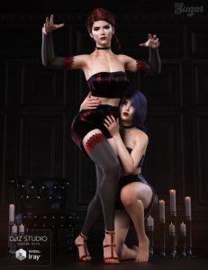 inmortal-queen-poses-for-genesis-8-female