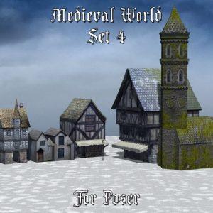 medieval-world-set-4-for-poser