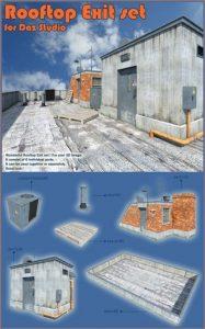 rooftop-exit-set-for-daz-studio