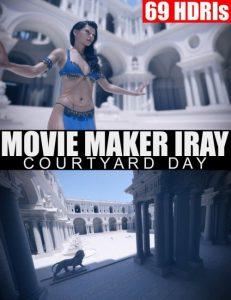 69-hdris-–-movie-maker-iray-–-courtyard-day